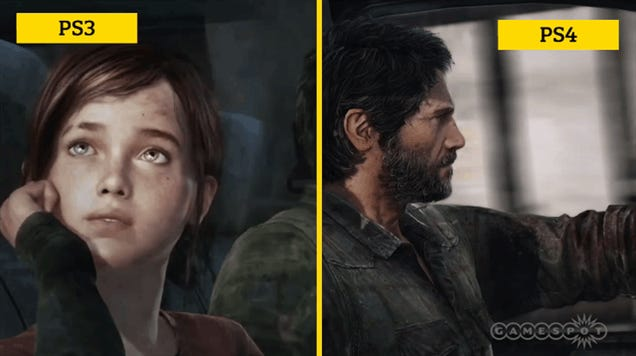 The Last Of Us: PS3 vs PS4