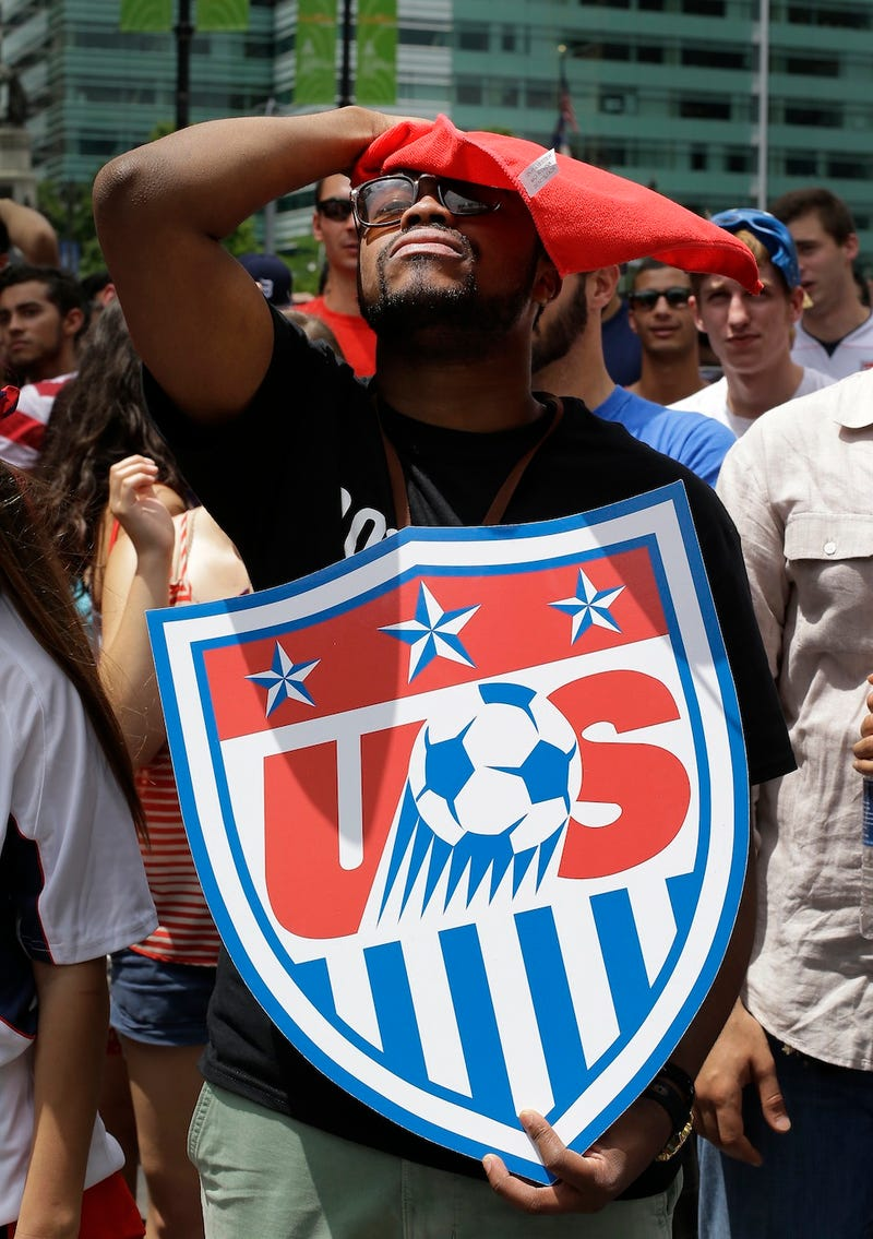 Here He Is, The Saddest American Soccer Fan