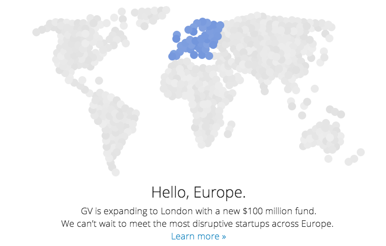 Google Launches $100 M. VC Fund in Europe While Under EU Investigation
