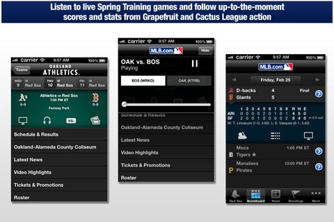 MLB At Bat 2011 Comes to Play for Android and iOS