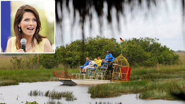 Bachmann's Plan to Drill the Everglades Not Winning Many Fans