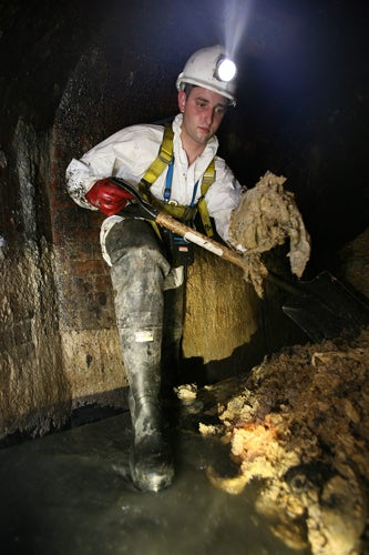 'Lard Work' Beneath London's Leicester Square