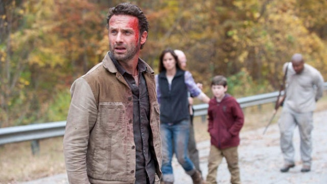 On the season finale of The Walking Dead, the honeymoon's over