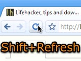 Shift+Refresh Is Like the Restart Button for Web Sites