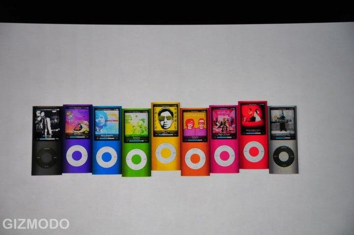 The New iPod Nano: It's Skinny Again