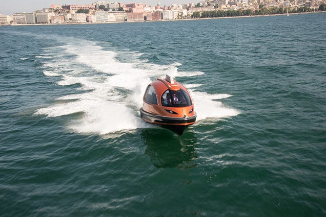 A Jetski-Powered Taxi for the Modern (Water)World