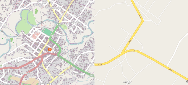 Tracking an Ebola Outbreak in a City Without Maps