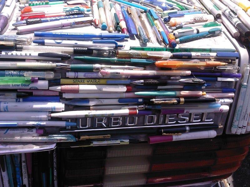 Mercedes Pens Art Car Baffles, Entertains At Maker Faire