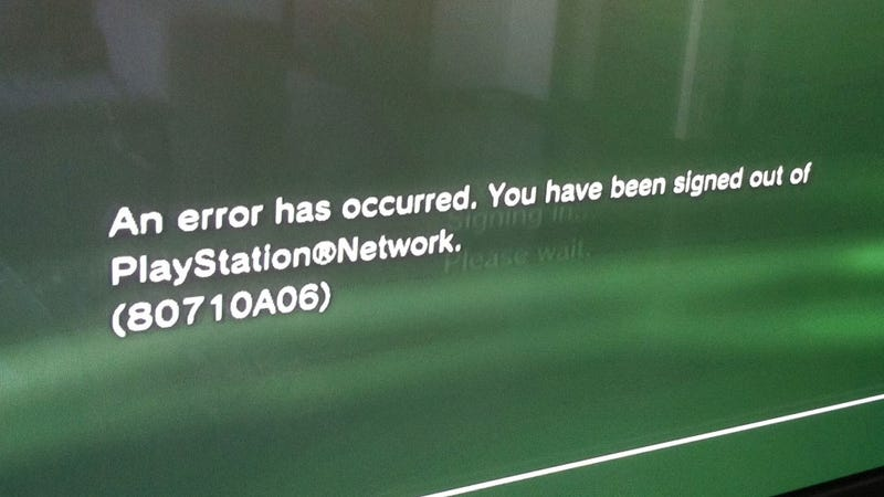 Is The Entire PlayStation Network Down? [Update]