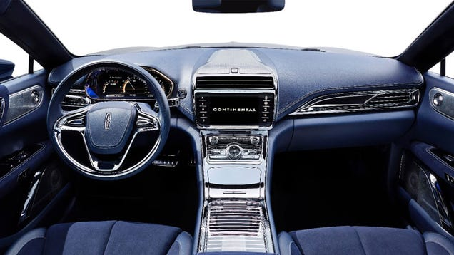 2016 lincoln continental concept this is it. Black Bedroom Furniture Sets. Home Design Ideas