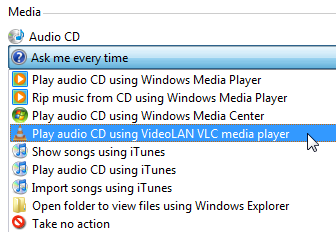 Add Custom Options to the Windows Vista AutoPlay Dialog