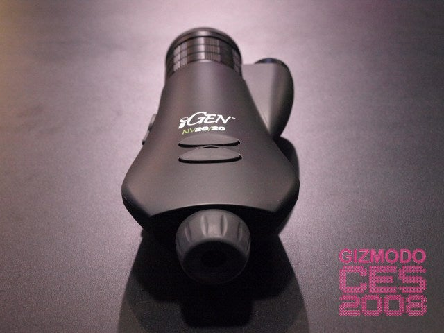 National Geographic's iGEN NV20/20 Scope Takes Night Time Pictures