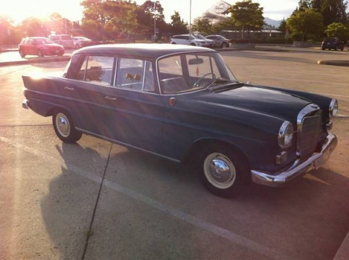 Can This 1963 Mercedes 190D Command $4,000?
