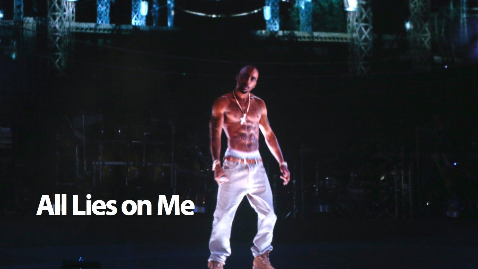 Tupac Hologram Wasn T A Hologram