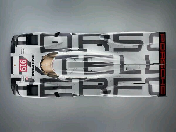 Why The 919 Livery looked off