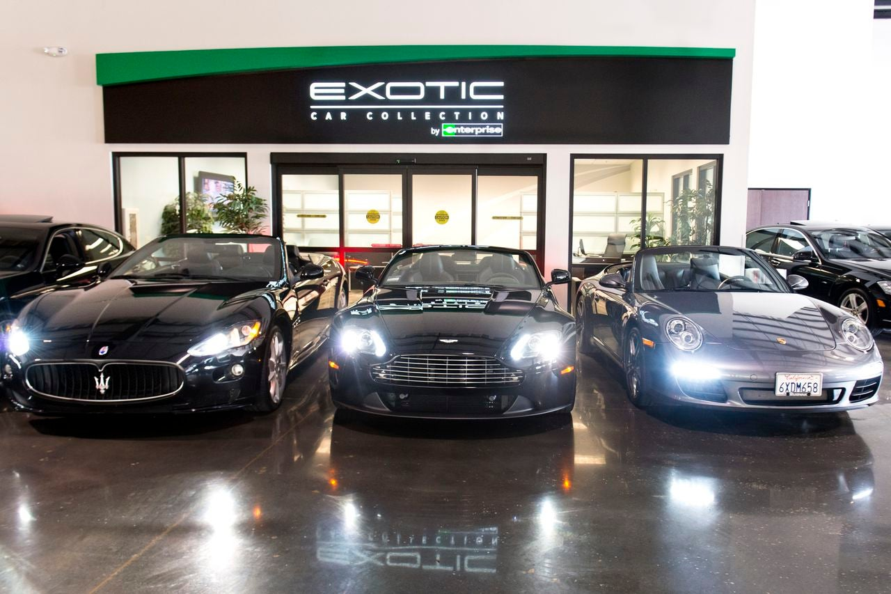 Enterprise Exotic Car Rental Scottsdale