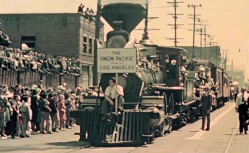 Watch a Parade of Trains Celebrate L.A. Union Station's 1939 Opening