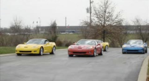 2009 Corvette ZR1 Caught Testing In Assorted Colors