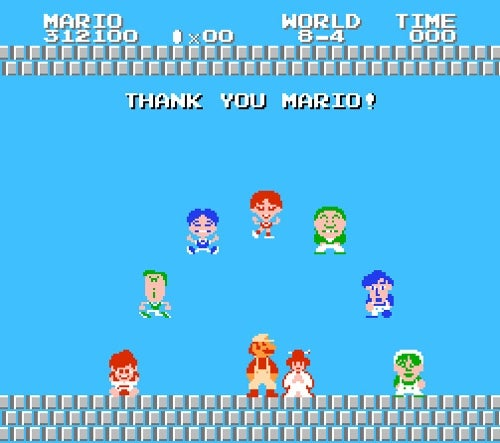 A Mario Ending You *Might* Not Have Seen