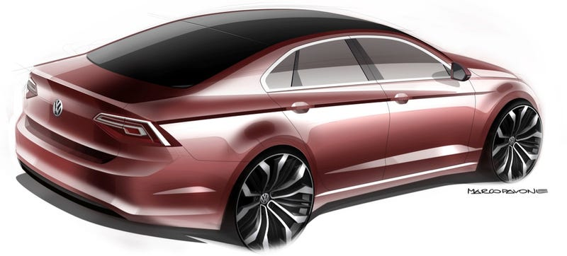Volkswagen Midsize Coupe Concept Exists Because Of Skoda