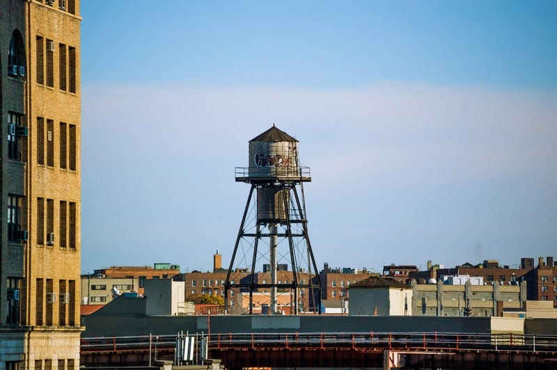 NYC's Charming Water Towers Are Actually Bacteria-Filled Horrorshows