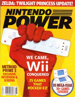 Wii Remote In Raised Fist: Possibly The Image Of Our Generation