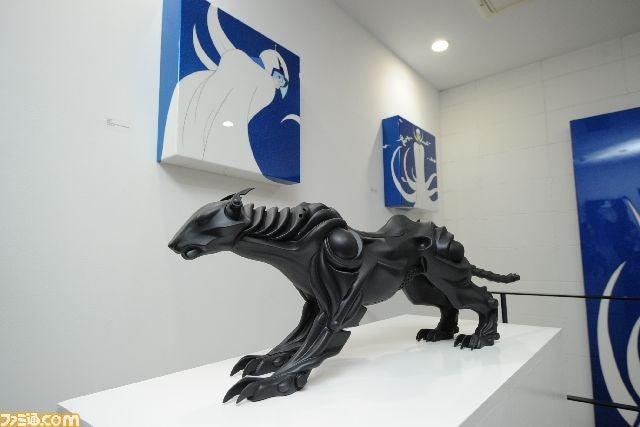 Final Fantasy Artist Has Fancy Art Show