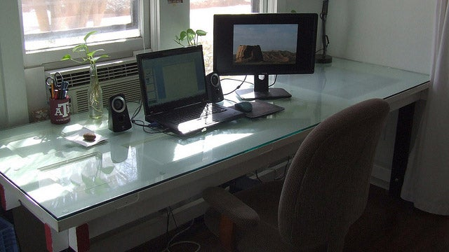 The Light Table Workspace (Which Used to Be a Door)