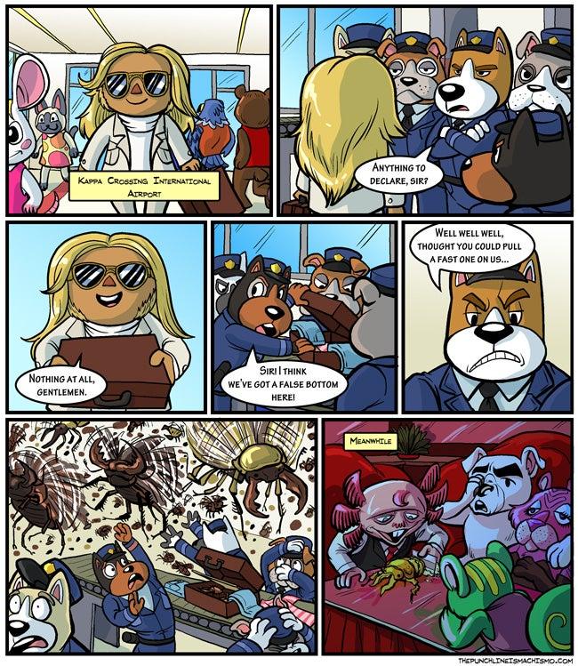 Sunday Comics: A Dose of Reality