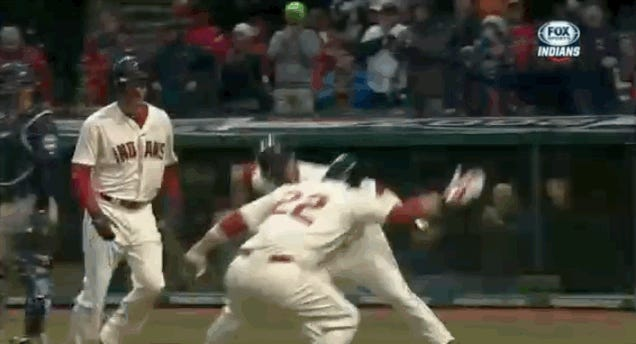 Nick Swisher Hits Home Run, Spells Out O-H-I-O