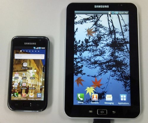 Leaked Photo of Samsung Galaxy Tab Shows 7-Inch Android Tablet