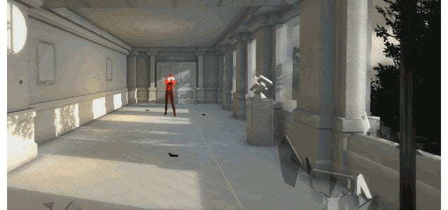 In Superhot, Bullets Only Move When You Do