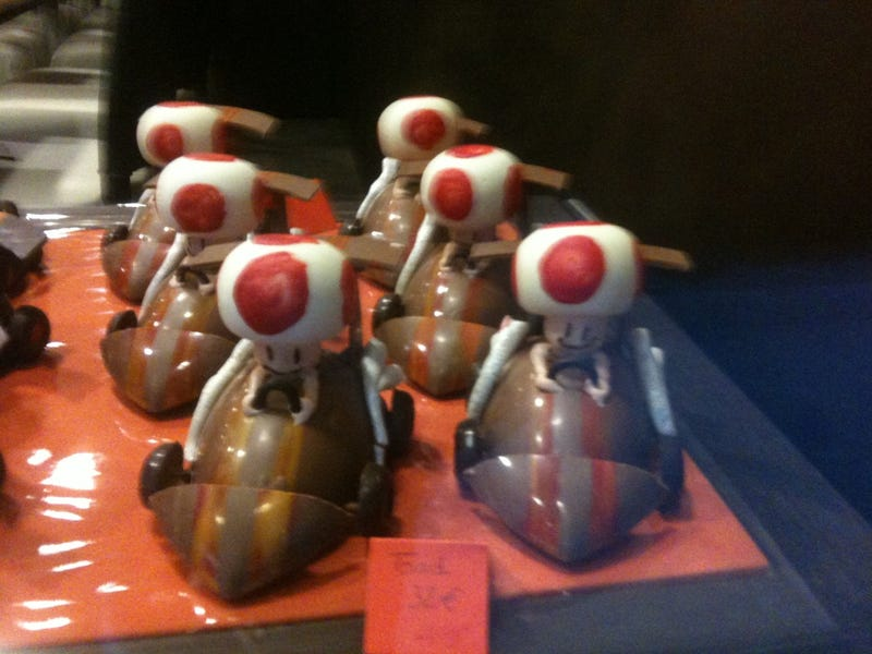 Mario Kart. Made Out of Chocolate.