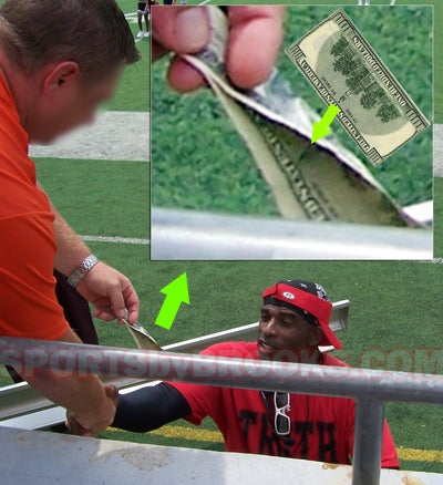 Deion Sanders and the Mystery of the Exchanged Benjamin
