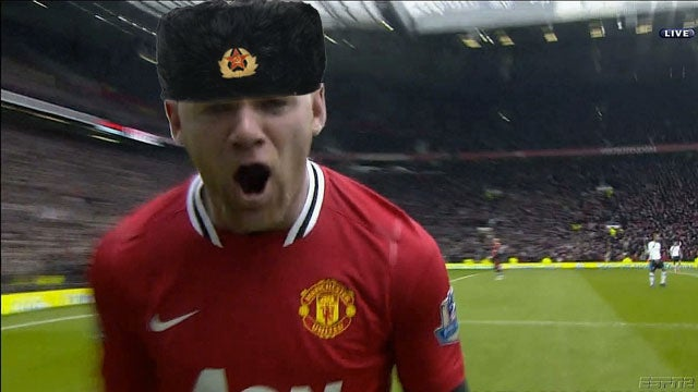 Soviet Russian Wayne Rooney Presents: Tottenham Hotspur Vs. Manchester United Open Thread