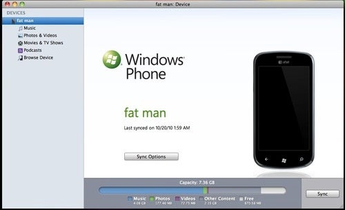 Download Windows Phone 7 Connector for Mac Beta Now
