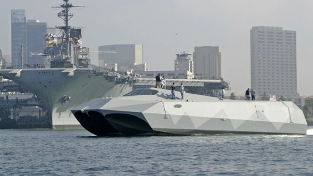 Florida TV Station Freaks Out About Stealth Fighter-Looking Military Boat