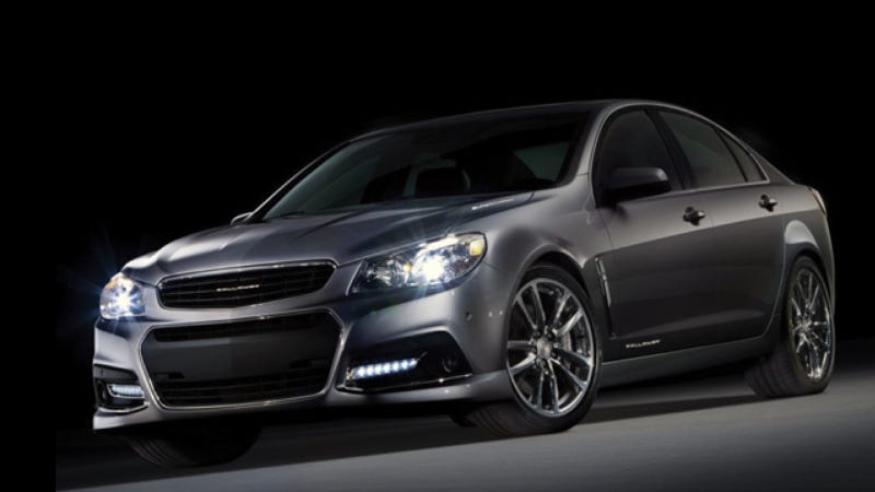 Callaway Boosting Chevy SS Sedan To 570 Horsepower