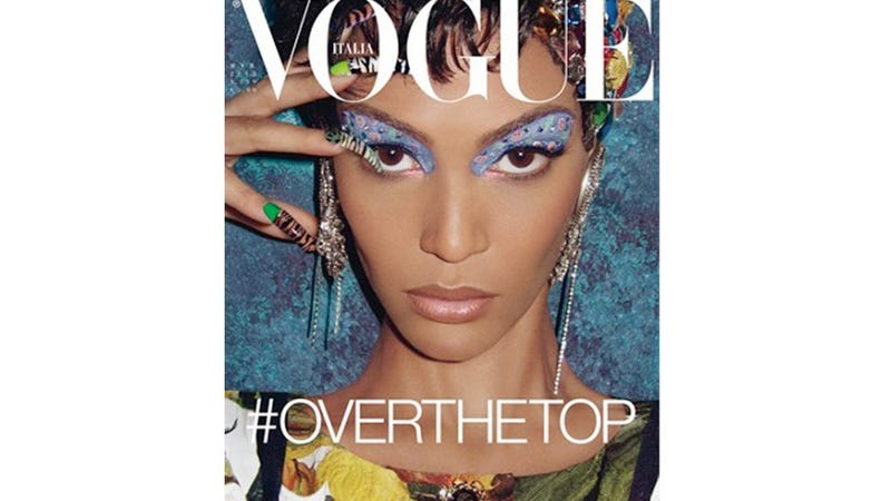 See Vogue Italia's First Black Cover Model In Four Years