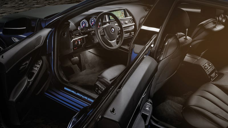 2015 BMW Alpina B6 xDrive Gran Coupe Is A 198 MPH Blue Monster