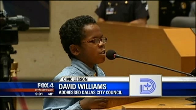 Out of the Mouth of Babes: 11-Year-Old Kid Calls Dallas City Council Members Out for Being Rude to Constituents