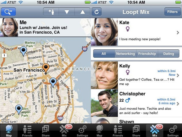 Loopt First iPhone App With Always-On Location, Even When It's Not Running