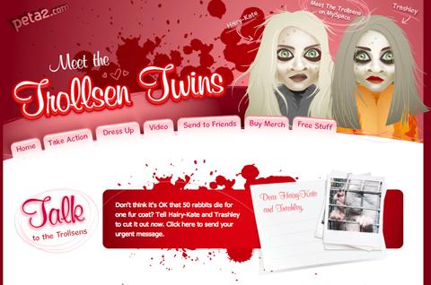PETA Targets Olsen Twins To Hilarious Effect