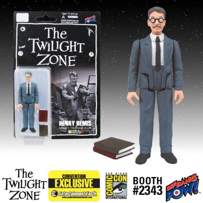 Comic-Con's Exclusive Twilight Zone Toys Revealed!