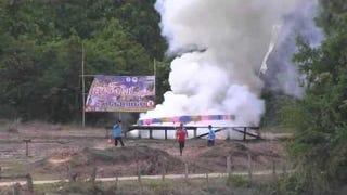 Amazing rocket launch!