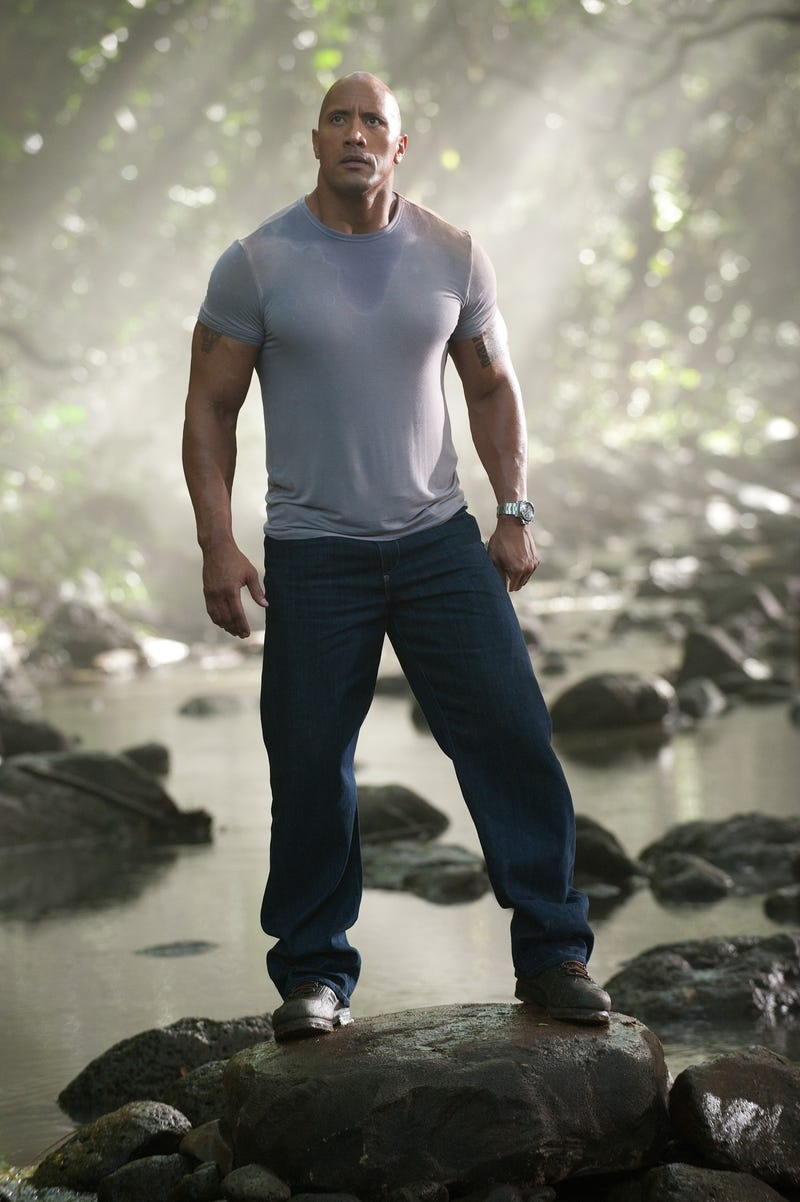 The Rock is here to guide you into manhood among the giant lizards