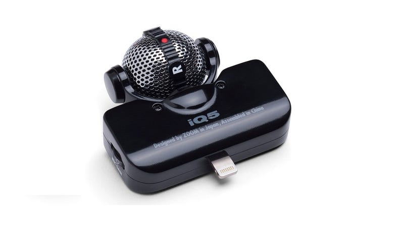 Give Your iPhone 5 a Pro-Quality Mic with the Zoom iQ5