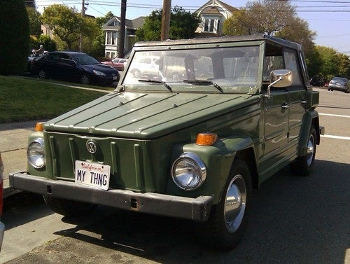 1974 Volkswagen Thing Down On The Alameda Street