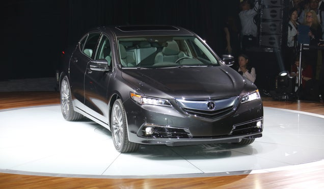 2015 Acura TLX: 'Don't Let The Power-To-Weight Ratio Fool You'