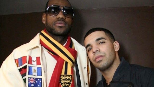 LeBron James Is Friends With Drake. Of Course He Is.